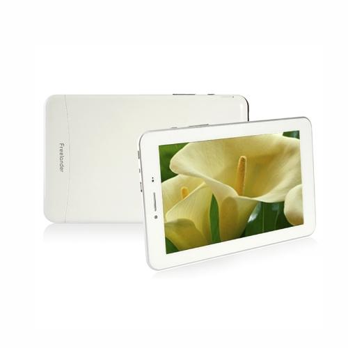 Freelander PX1 четырехъядерных процессоров 7» Tablet PC Dual Sim Android 4.2 MTK8389 1 ГБ + 8 ГБ 2.0MP/5.0MP камеры IPS экран BT GPS HD