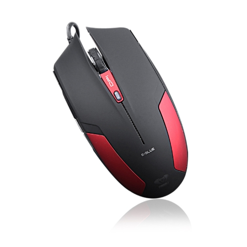 E-3lue Cobra EMS109 Gaming Mouse 1600DPI USB Wired LED Light High Precision Red