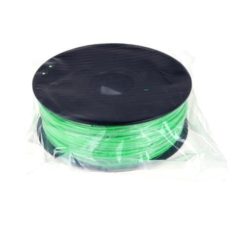 3D Printer Filament 1kg/2.2lb 1.75mm ABS Plastic for MakerBot RepRap Mendel Green