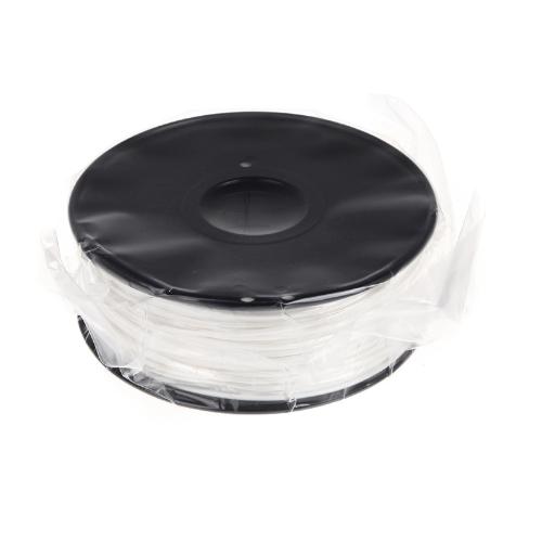 3D Printer Filament 1kg 2.2lb 3mm ABS Plastic for MakerBot RepRap Mendel White