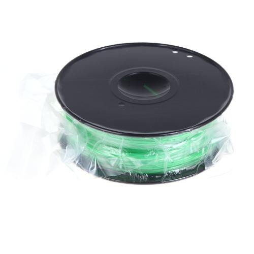 3D Printer Filament 1kg/2.2lb 1.75mm PLA Plastic for MakerBot RepRap Mendel Green