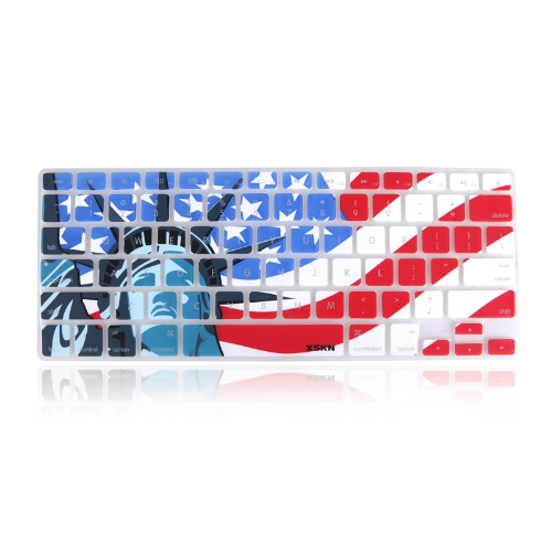 XSKN Silicon Keyboard Skin Film Cover for Apple MacBook Air Pro 13