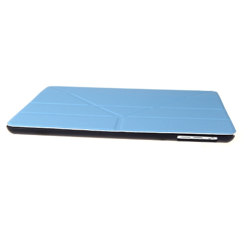 Magnetic Smart Case Comprehensive Protective Shell Stand for iPad Air Sleep/Wake Up Blue