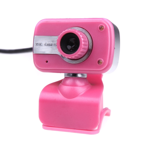 USB 2.0 HD Camera Web Cam Clip-on Base with MIC Microphone for Computer Desktop PC Laptop Skype