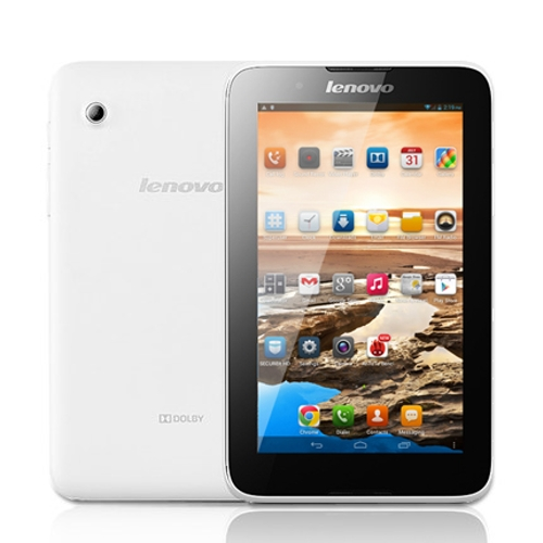 """Lenovo A3300 TD-SCDMA 3G Phone Call Tablet PC MTK8382 Quad Core Android 4.2 7"""" IPS Screen Dual Camera 1G 16G White"""