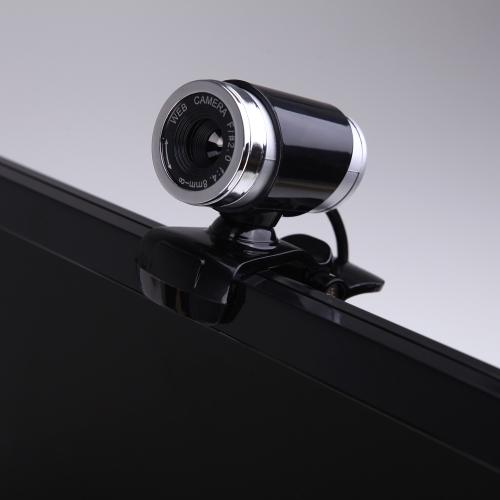 USB 2.0 50 Megapixel webcam Videocamera HD telecamera di Sorveglianza Cloud Wireless con microfono clip-on da 360 gradi per desktop Skype PC Computer Portatile