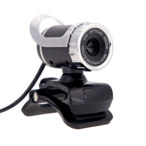 USB 2,0 50 Megapixel HD Camera Web Cam 360 graus com MIC clip-on para Skype Desktop computador PC Laptop