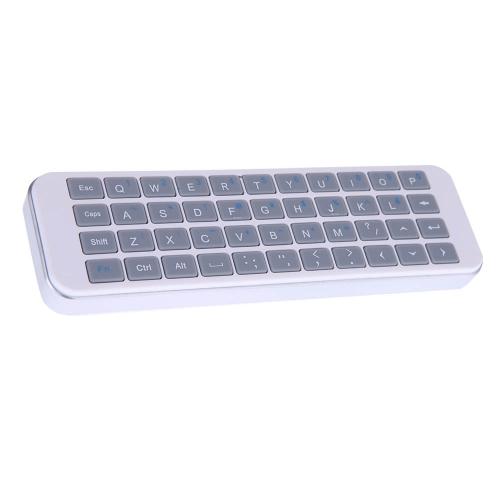 Bezprzewodowa klawiatura bezprzewodowa iPazzPort 2.4G z bezprzewodową klawiaturą do smartfonów Android Smart TV / HTPC / Rozrywka multimedialna KP-810-30K