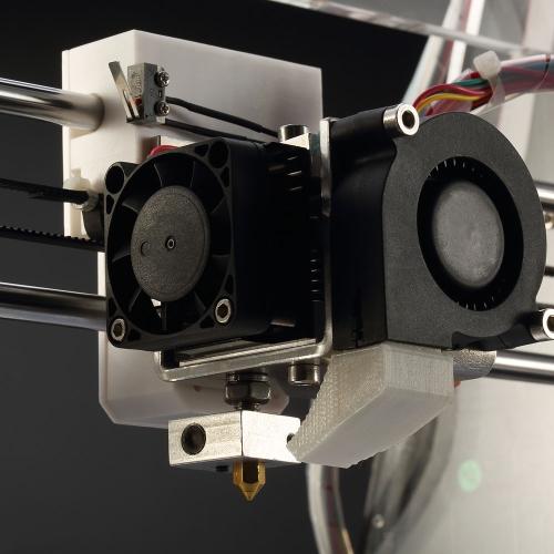 Máquina de impressora 3D RepRap Prusa I3 DIY Kit injeção moldada TF cartão alta precisão ABS/PLA Z605 para indústria de educação artística Design