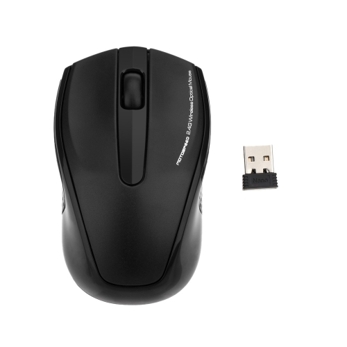 2.4GHz High Quality Wireless Optical Mouse Mice with USB 2.0 Receiver for PC Laptop