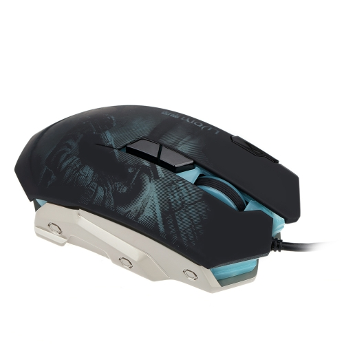 3200 DPI Optical 8D Buttons Vibration Wired Gaming Mouse Mice LED Programmable for Pro Gamer