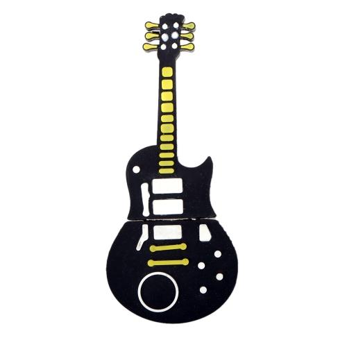 Cartoon Musical Instrument Guitar Model Shaped USB 2.0 Flash Drive Memory External Storage Stick U Disk
