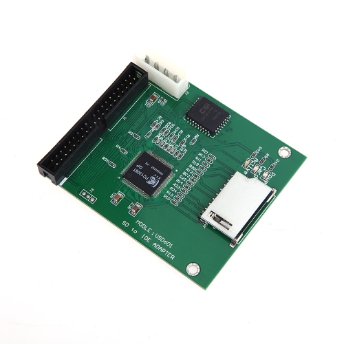 Secure Digital SD SDHC MMC to 3.5  IDE Adapter Converter
