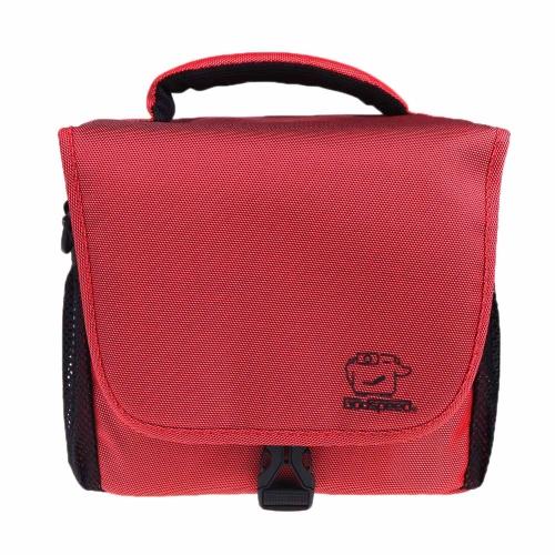 Godspeed Camera Bag Case Single Shoulder for Nikon Canon Sony Panasonic SLR DSLR Camera Red