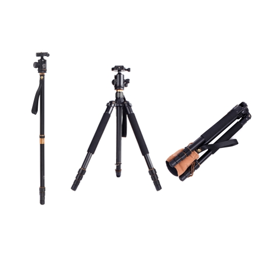 New Q999 Pro Tripod Monopod for SLR Camera Ball Head Portable Detachable Changeable Traveling