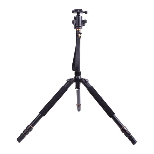 New Q999 Pro Tripod Monopod for SLR Camera Ball Head Portable Detachable Changeable Traveling