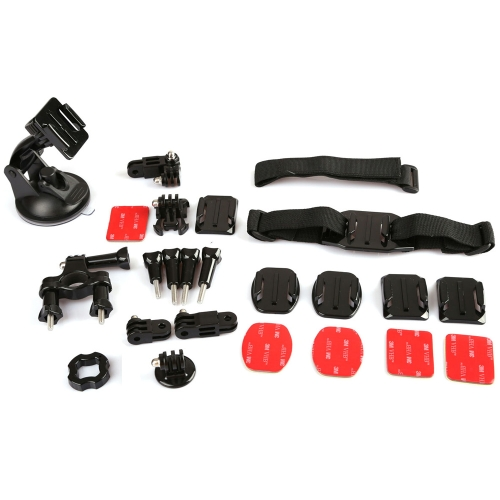 Dazzne KT-105 Mount System Set Kit Accessories for GoPro Hero 1 2 3 3+ 4 Camera