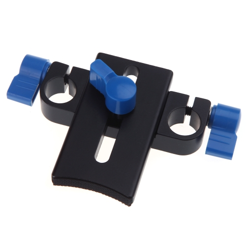 Lens Support Bracket Mount Clamp Holder for 15mm Rod Rail System Follow Focus