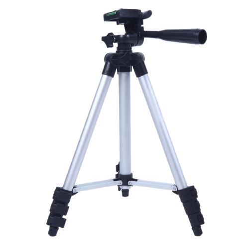 3110A Pro trípode ligero Flexible portátil tres vías cabeza de cámara para Sony Canon Nikon
