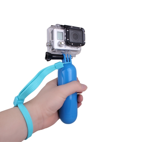 Andoer Floating Hand Grip Handle Mount Accessory for GoPro Hero 1 2 3 3+ 4 Camera Blue