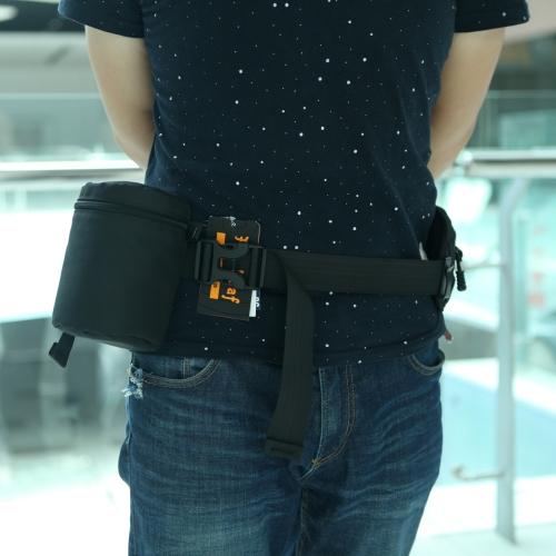 Fly liści obiektywu etui Bag 13 * 8.5cm dla lustrzanek Nikon Canon Sony Obiektywy FY-2