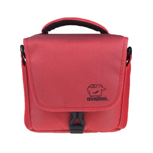 Godspeed Camera Bag Case Single Shoulder for Nikon Canon SLR DSLR Camera Red