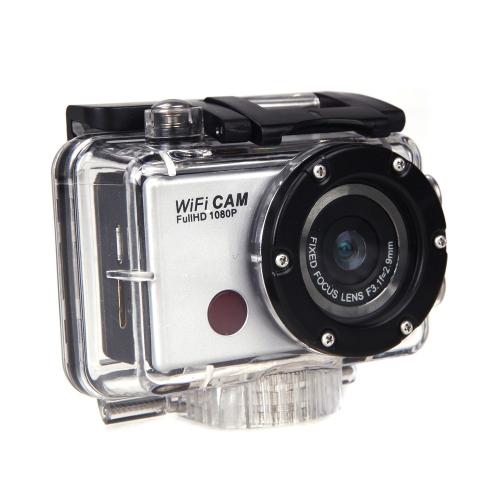 5.0MP HD 1080P Wodoodporna Wifi Działanie Sport Kamery Kamery wideo Pilot zdalnego sterowania WD WD5000