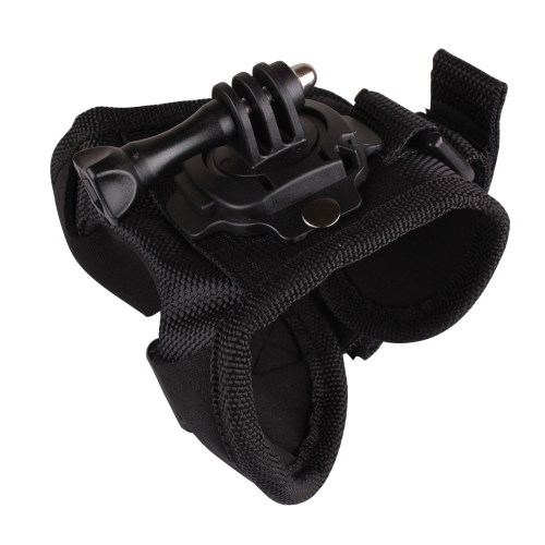 Andoer 360 Degree Rotation Glove-style Band Mount Palm Strap Accessories for GoPro Hero 4/3+/3/2/1 Camera Large
