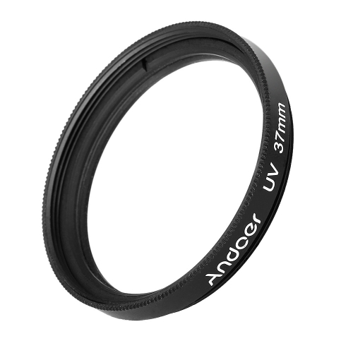 Andoer UV 37mm Filtr ultrafioletowy Lens Protector do Canon Nikon DSLR Camera