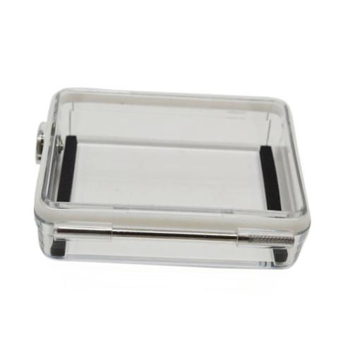Andoer Wasserdicht Backdoor Gehäuse Case für Gopro Held 4 3 + 3 LCD Bildschirm Bacpac