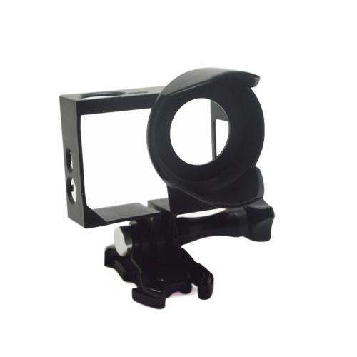 Andoer Sport Camera Standard Border Frame Mount Protective Housing with Lens Hood for GoPro Hero 4/3+/3