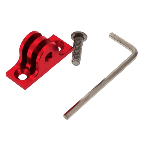 Andoer CNC Aluminium Flat Bottom Adapter Mount + Screw + Tool for Gopro Hero 1 2 3 3+ 4