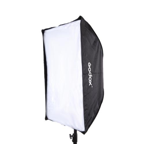 スピード ライト用 Godox ポータブル 60 * 90 cm/24 * 35」傘のソフト ボックス反射板