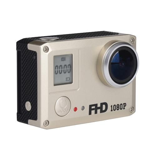 WIFI Mini 14.0MP CMOS 1080P FHD DV 170 Szeroki kąt 30M Wodoodporny Akcja Kamera Kamera samochodowa Rejestrator samochodowy