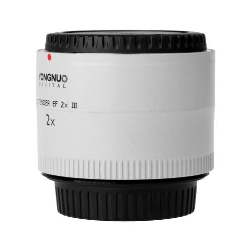 Yongnuo YN-2.0X III PRO 2x Teleconverter Extender Auto Focus Mount Lens for Canon EOS EF Lens