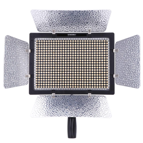 Yongnuo YN-600L 600 LED Studio Video Light 3200k-5500k Lamp Color Temperature Adjustable with Remoto Control for Canon Nikon Camcorder DSLR