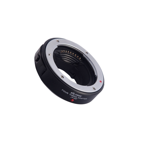 Viltrox JY-43F AF Autofocus bague adaptatrice mont métal pour 4/3 Lens pour Micro M4 / 3 Mont pour Olympus E-PL1 PL2 PL3 E-P1 Panasonic G3 Appareil photo reflex numérique
