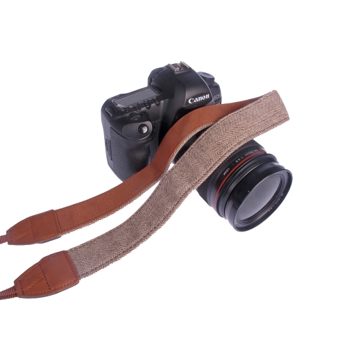 Weinlese Kamera Schulter Umhängeband  Ansatz Bügel Gurt für Sony Nikon Canon Olympus Panasonic Pentax DSLR SLR