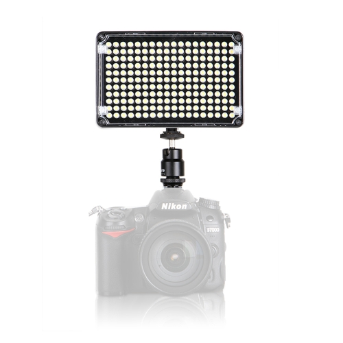 Aputure Amaran AL-H198 cámara LED Video CRI95 luz + Color puro Natural con zapata caliente, bolsa de transporte