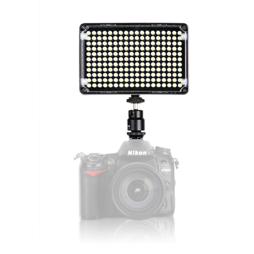 Aputure Amaran AL-H198C Caméra LED Projecteur  pour studio photoCRI95 + 3200-5500K Réglage de la température avec Hot Shoe Mont Sac de transport