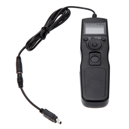 Fogta Shutter Release Cable Timer Remote Control with N3 Cable for Nikon D7000 D5100 D3100 D90 D5000