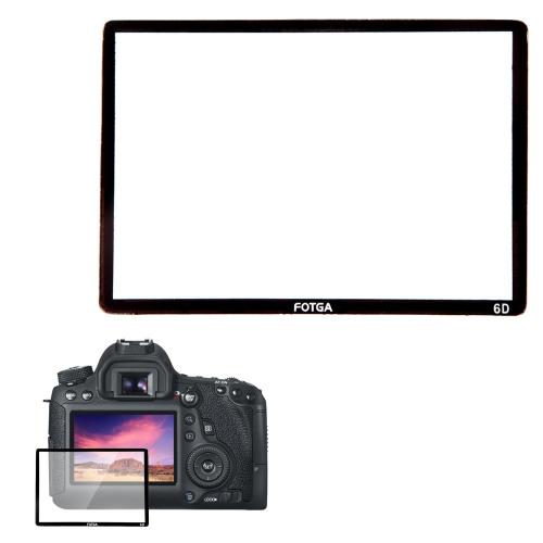 Fotga Professional LCD Optical Glass Screen Protector for Canon EOS 6D DSLR Camera