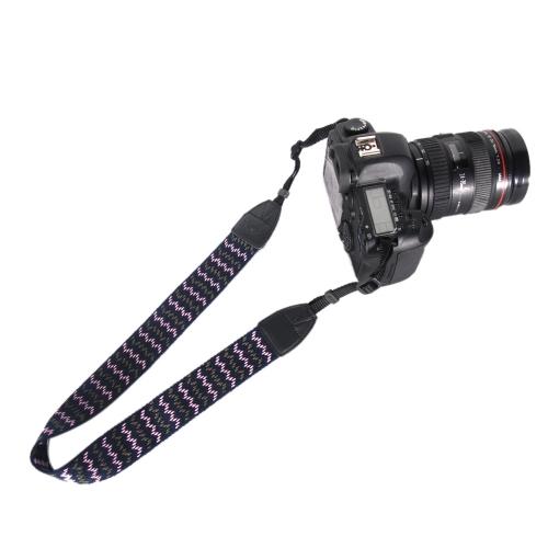 Vintage Camera Shoulder Neck Nylon Strap Sling Belt for Nikon Canon Sony Panasonic SLR DSLR ILDC