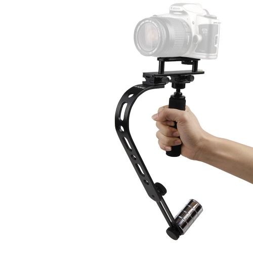 Andoer Mini Wideo Steadycam Steadicamu stabilizator Canon Nikon Sony Pentax Cyfrowe kompakty DSLR kamery DV