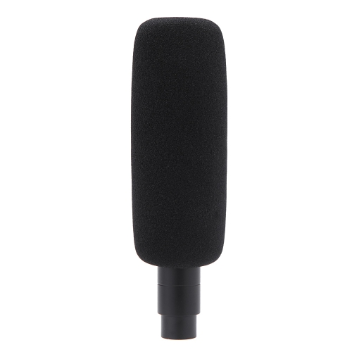 Q5 XLRM  Condenser Interview Microphone for Canon Nikon Sony DSLR Camcorder