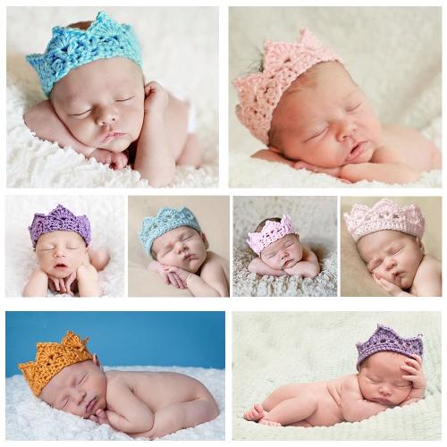 Вязанные костюмы для фотосессии новорожденных