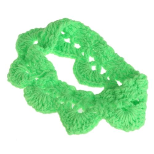 Dziecko Niemowlę Opaska Korona Crochet Knitting Costume Miękkie Adorable Odzież fotografii stock Podpory dla noworodków