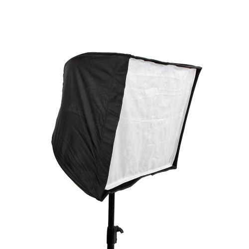 50 * 70 cm / 19,7 * 27,6 cala kwadratowa kostka Softbox reflektor reflektorowa namiotowa fotografia studyjna parasolka z włókna węglowego z siatką o strukturze plastra miodu dla lampy błyskowej Speedlite