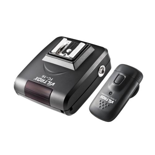 Viltrox FC-16 2.4GHz Radio Wireless Remote Flash Trigger for Canon Nikon DSLR Camera