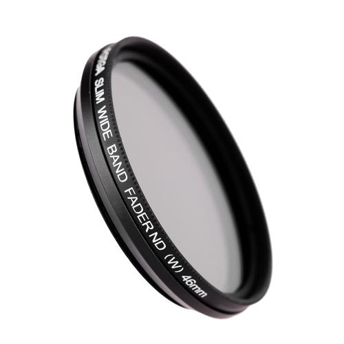 Fotga 46mm Slim Fader Variable ND Filter Adjustable Neutral Density ND2 to ND400 D2125